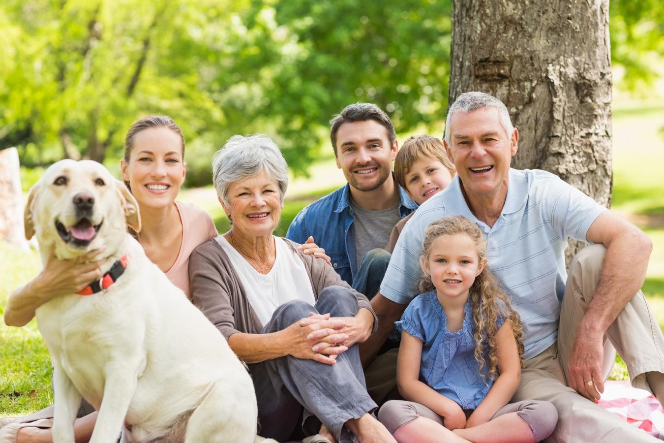 healthy family uses aloe