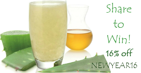 Win Aloe Health Juice