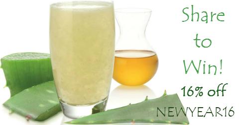 Win Aloe Health Juice