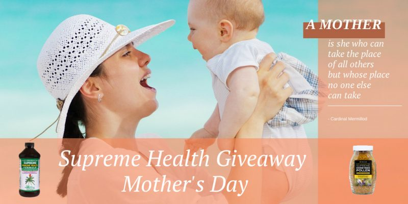 Mothers' Day Giveaway Aloe Products Center
