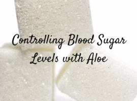 control type 2 diabetes with aloe arborescens