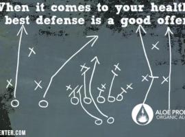 best defense is a good offense