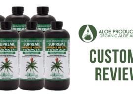 Aloe Juice Customer Reviews